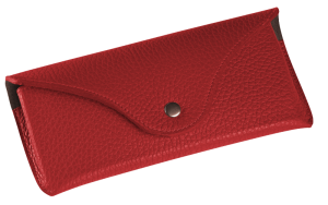 Brillen-Etui Derby Fashion rot