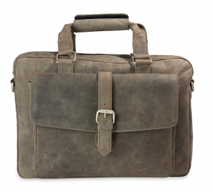 Business-/City-Bag Vintage taupe Carpe Diem